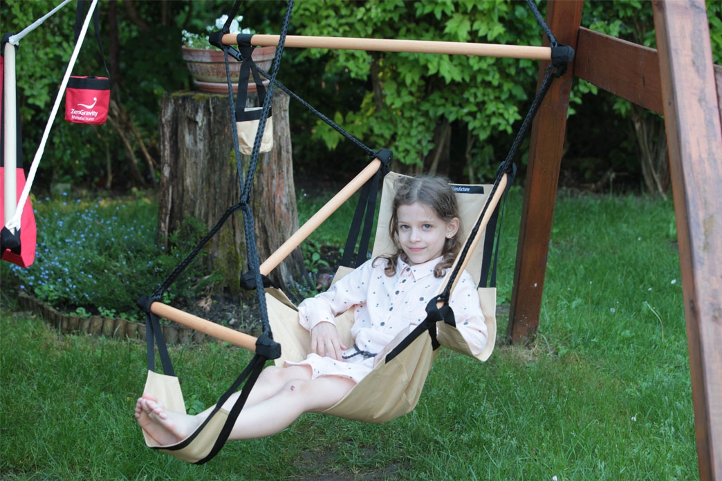 Leisure for all generations: New children's hanging chair from Zero Gravity